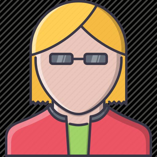 glasses, hairstyle, jacket, man, people, rocker, style icon