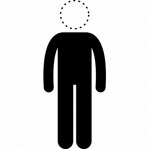 blank, emotion, empty mind, expression, human, man, people icon