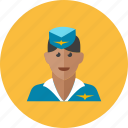 1, air, hostess icon