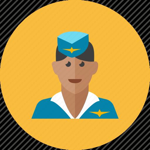 1, air, hostess icon