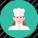 chef, woman