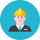 1, construction, worker icon