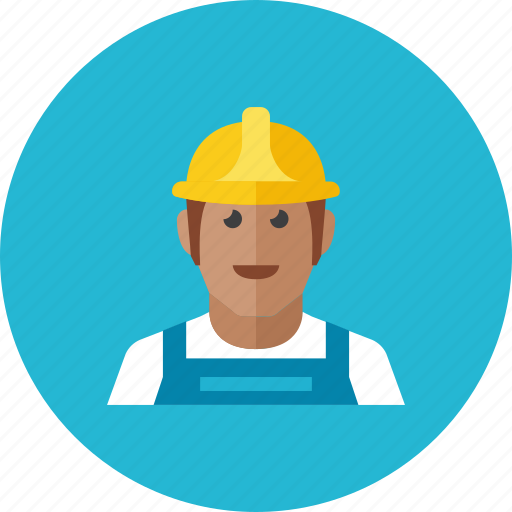 construction, worker icon