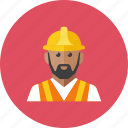 2, worker, road icon