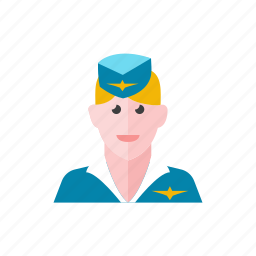 2, air, hostess icon