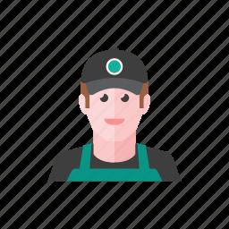 barista, man icon
