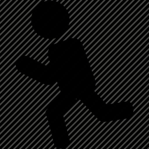 Runner, silhouette, sprinter icon - Download on Iconfinder