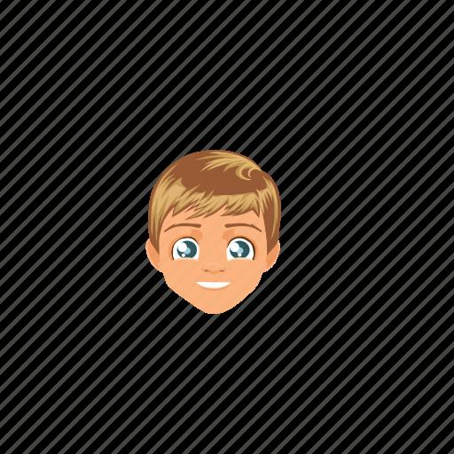 Blondehair, boy, handsome, man, people, west, whiteskin icon - Download on Iconfinder