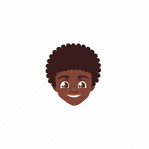 afrika, boy, brownhair, darkskin, handsome, man, people icon