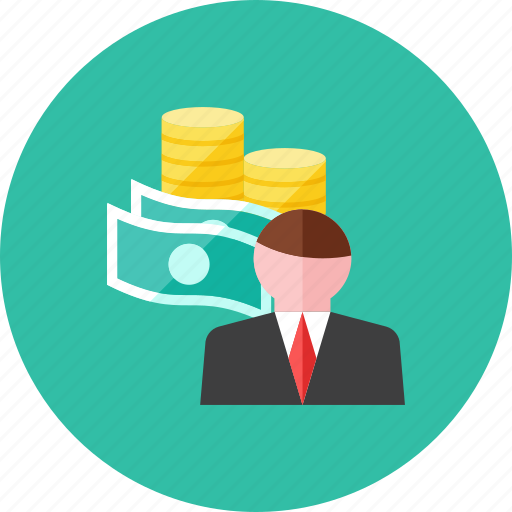 advisor, financial icon
