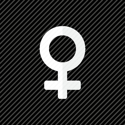 symbol, woman icon