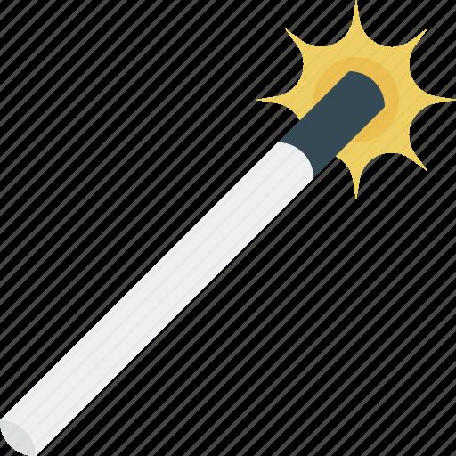 magic, tool, wand, wizard icon