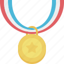 achievement, award, medal, reward, winner icon