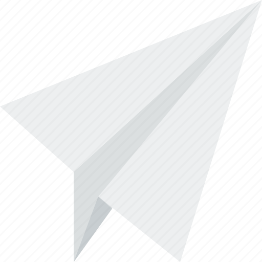 office, paper, plane, travel icon