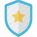 firewall, guard, protection, secure, security, shield icon