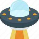 alien, space, spacecraft, spaceship, ufo icon