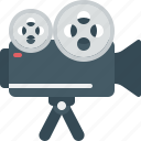 camera, film, media, movie, video icon