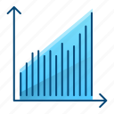 growth, increase, performance, statistics icon