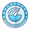 chronometer, fast, performance, speed icon