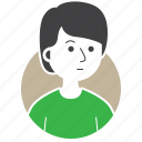 avatar, boy, emoji, expression, man, people, millenial