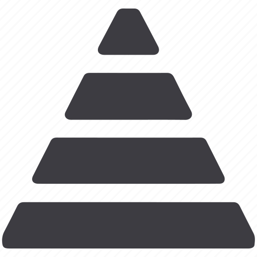 piramid, pyramid, stock icon