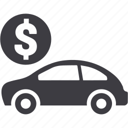 auto, car, finance, loan, money, payment, vehicle icon