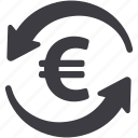 currency, euro, exchange rate icon