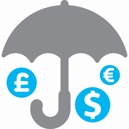 investment insurance, money, protection icon
