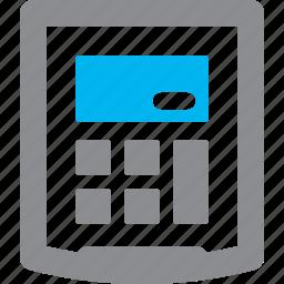 finance, finance calculator, math icon