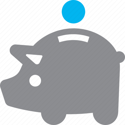deposit, piggy bank, savings icon
