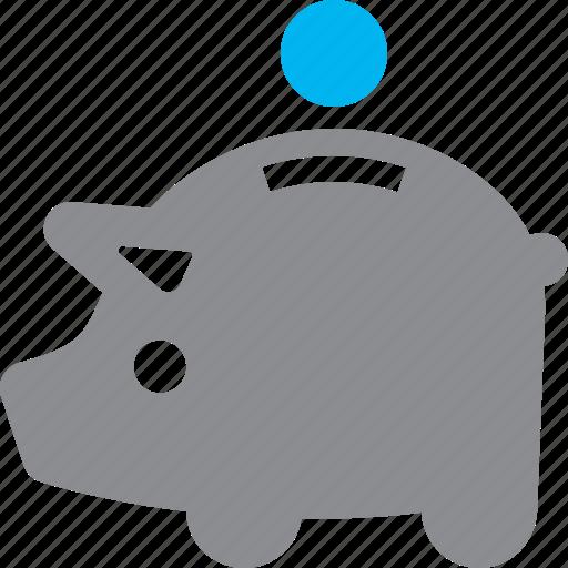 deposit, money, piggy bank, savings icon