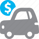 auto loan, car, finance, vehicle icon