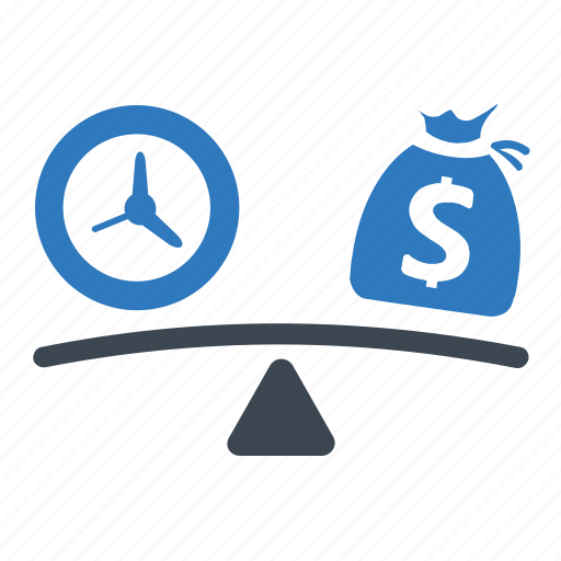 debt, risk analysis, scale icon
