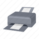 component, computer, device, equipment, hardware, personal, printer icon