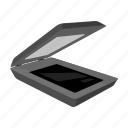 component, computer, copy, equipment, hardware, personal, scanner icon