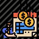monthly, money, calendar, regular, income