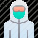 hazmat, medical, protection, suit, virus