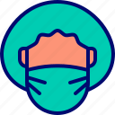 doctor, healthcare, mask, surgeon, surgical