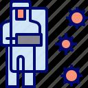 coronavirus, hazmat, protection, shield
