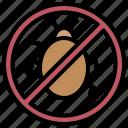 bugs, forbidden, no icon