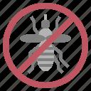 forbidden, mosquito, no icon
