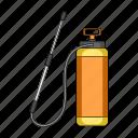 cylinder, equipment, handle, pump, rod, spray, tank icon