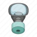 filter, gas mask, mask, means, protection, respirator icon