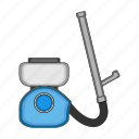 air duct, equipment, hose, sprayer icon