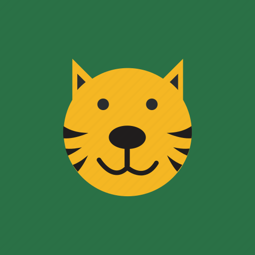 animal, cat, head, pet icon