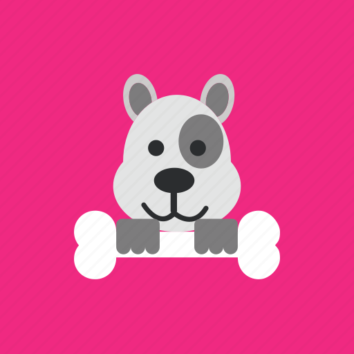 animal, bone, dog, pet icon
