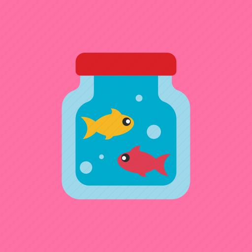 Pet, animal, bottle, fish icon - Download on Iconfinder