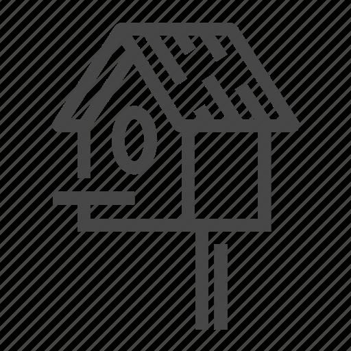 Bird, bird house, house, pet icon - Download on Iconfinder