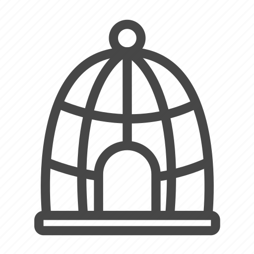 Bird, cage, home, house, pet icon - Download on Iconfinder