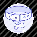 badge, bone, collar, dog, id, pet, puppy, red, tag
